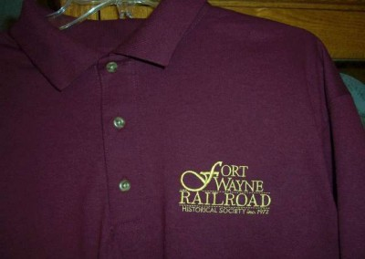 Fort Wayne Railroad Historical Society polo