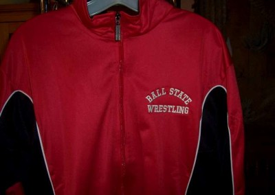 Ball State Wrestling Jacket