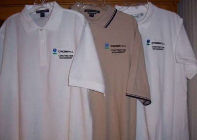 CH2MHill Construction Management Polos