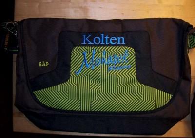 Mohawk Racing Messenger Bag