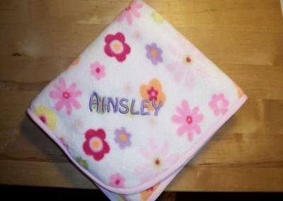 Baby Blanket with Name