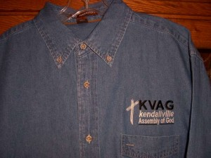 Kendallville Assembly of God Denim Shirt