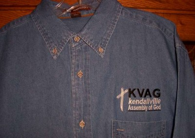 Kendallville Assembly of God Denim Shirt