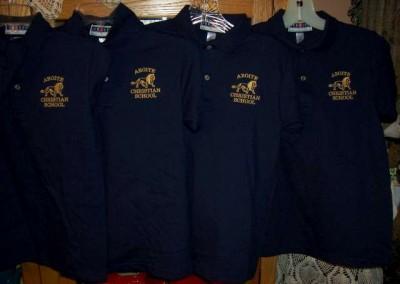Aboite Christian School Polos