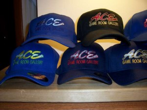 Ace Game Room Baseball Caps