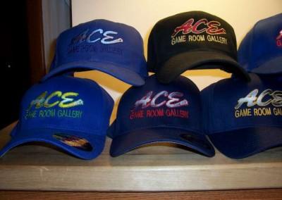 Ace Game Room Baseball Caps