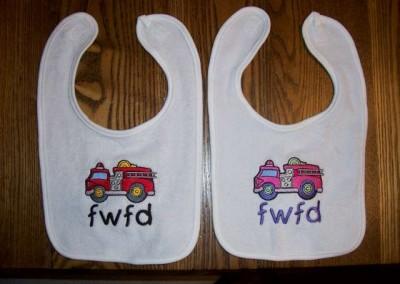 FWFD Baby Bibs