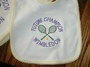 Future Tennis Champion Bib