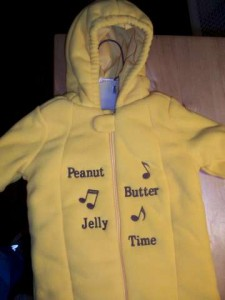 Peanut Butter Jelly Time Outfit