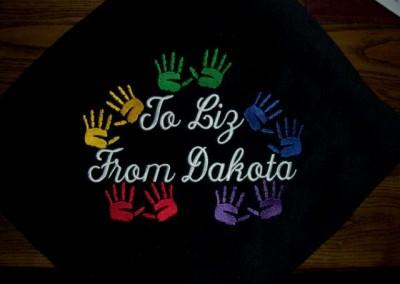 Handprint Blanket