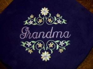 Cozy Fleece Throw for Grandma