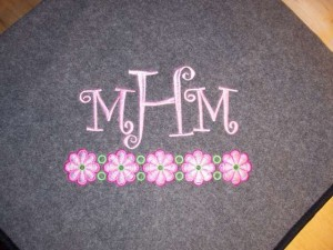 Whimsical Monogram
