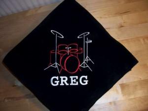 Bluffton Drummer Blanket