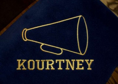 Norwell Cheer Blanket with Name