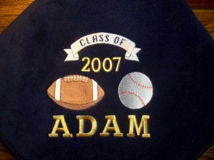 Class of 2007 Sports Blanket