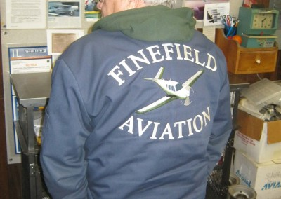Finefield Aviation Jacket Back