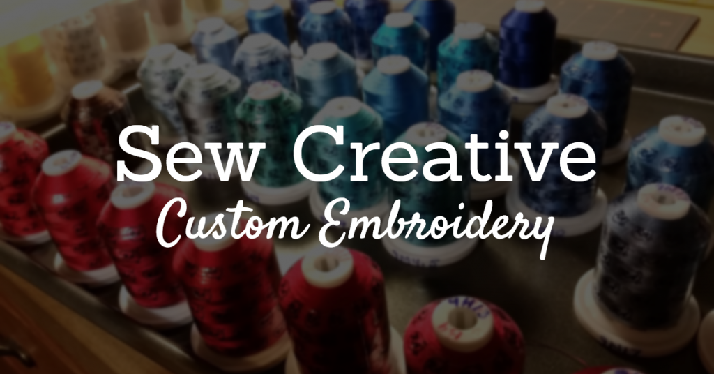 sew creative custom embroidery