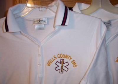 Wells County EMS Polo