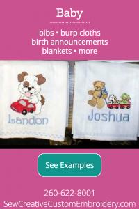Baby Custom Embroidery