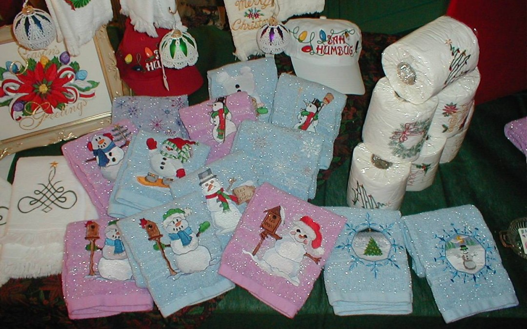 Christmas Embroidery Fun
