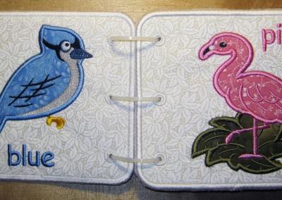 Blue Jay and Flamingo