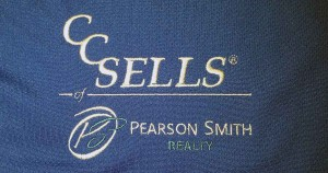 CC Sells of Pearson Smith Realty - Embroidered Polo Shirt