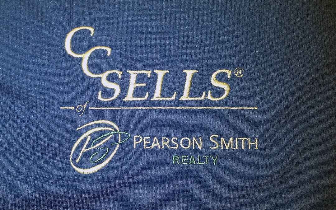 From Print to Embroidery: the CC Sells Logo