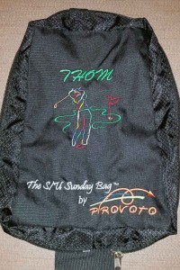 Custom Embroidered Golf Bag for Provoto, Personalized with Name