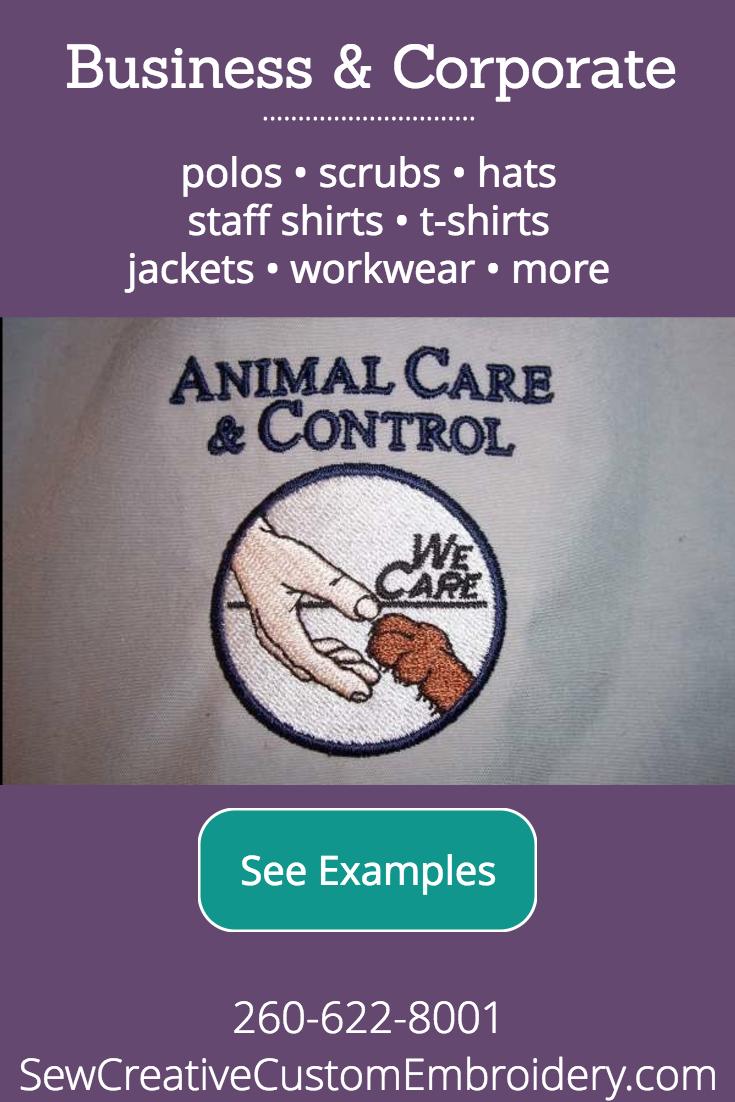 Business & Corporate Custom Embroidery