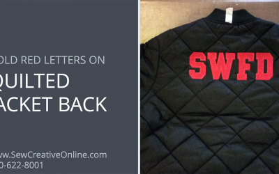 Quilted Jacket with Back Embroidery for SWFD