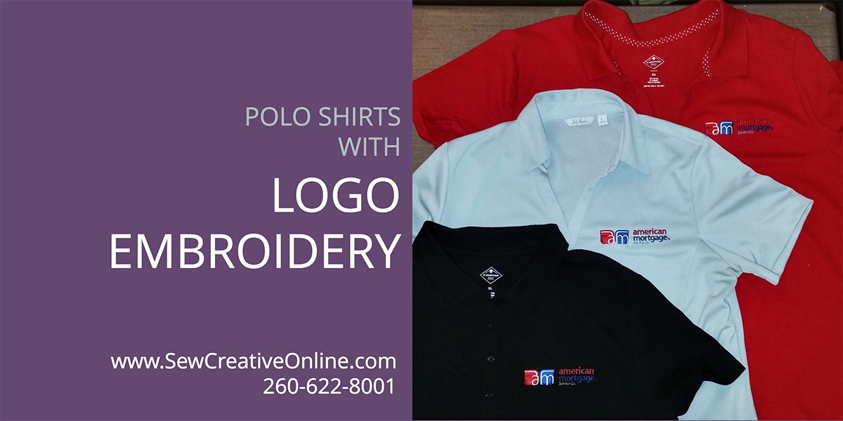 Polo Shirts with Logo Embroidery for American Mortgage