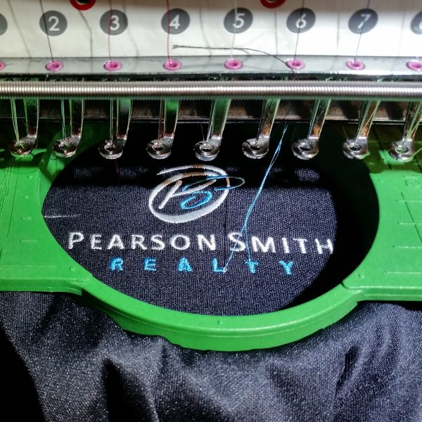 Pearson Smith Stitching In Process