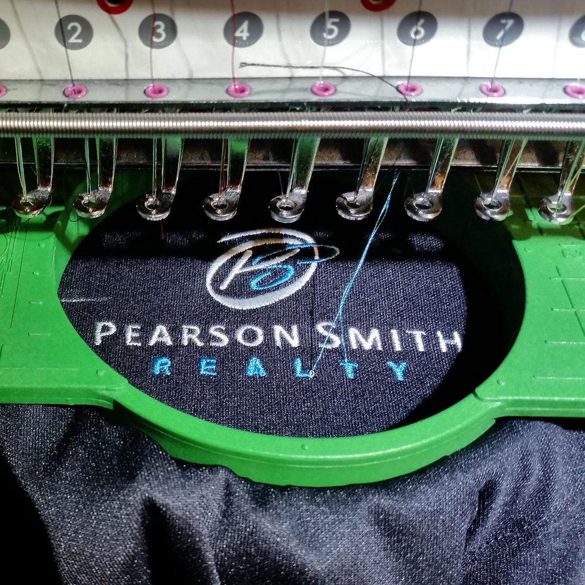 Pearson Smith Realty Stitching In Process