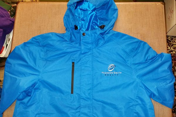 Jacket Style J331 with Pearson Smith Realty logo embroidered on left chest